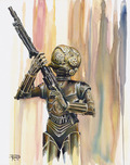 Star Wars Artwork Star Wars Artwork 4-LOM
